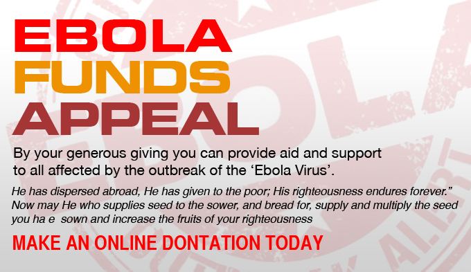 ebola funds
